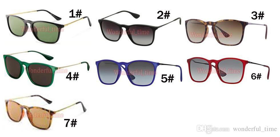 Verano caliente hombres gafas deportivas moda gafas de sol mujeres Ciclismo Deportes al aire libre Gafas de sol marco simple 7 colores envío gratis