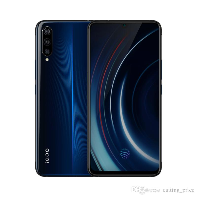 "Original VIVO IQOO 4G LTE Cell Phone 6GB RAM 128GB ROM Snapdragon 855 Octa Core 13.0MP AR OTG NFC 4000mAh Android 6.41"" Screen Fingerprint ID Face Wake Smart Mobile Phone"