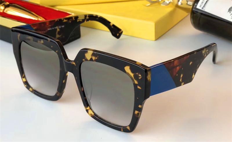 Designer de óculos de sol das mulheres moldura quadrada simples popular venda estilo óculos de proteção de qualidade superior uv400 eyewear com caixa original