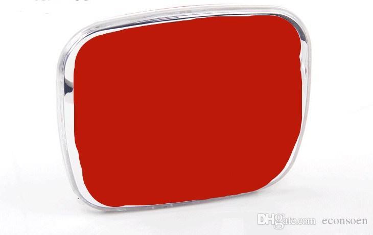 1PCS Red surface H emblem car Front Rear Sticker PMMA Grill Rear Badge Emblem Sticker styling LED Emblem Blue Red Dual Color