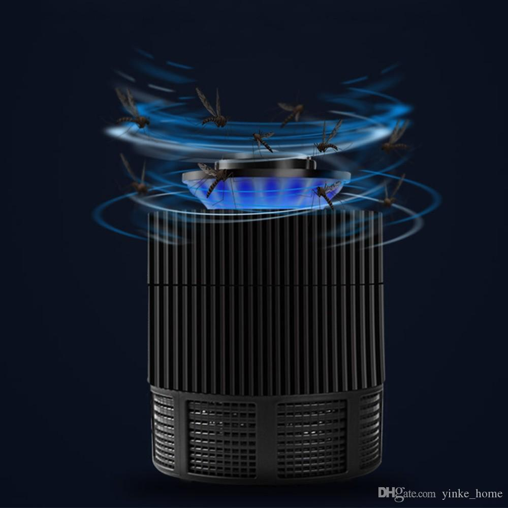 USB Electronic Mosquito Killer Lamp Trap Light Bug Fly Catcher Insect Pest Control Zapper Repeller Mosquito Repellent for Living Room Office