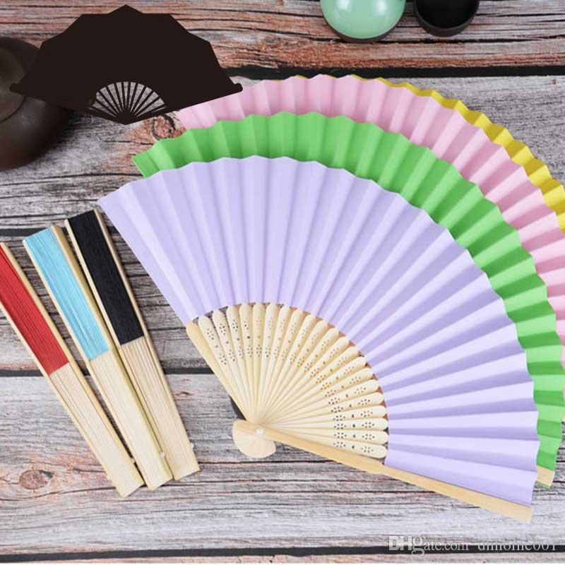 Personalized Wedding Fans Silk Fold Hand Fans Wedding Favors Gifts for Guests Baby Shower Birthday Party Decoration