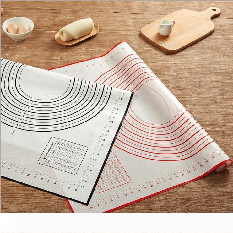 60*40CM Non Stick Silicone Baking Mat Sheet Kneading Rolling Dough Pad Mat Baking Bakeware Liners Pads Cooking Tools