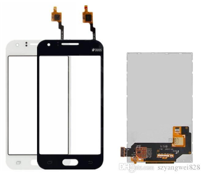 Samsung Galaxy için Dokunmatik Ekran ile LCD J1 J100H / DS SM-J100F J100FM LCD ekran Digitizer Cam Panel Ön