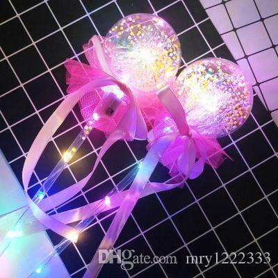 Nuovo flash Bobo Flash palla luminosa giocattolo Bobo stella magica sfera vuota bastone per bambini bastone giocattolo LED