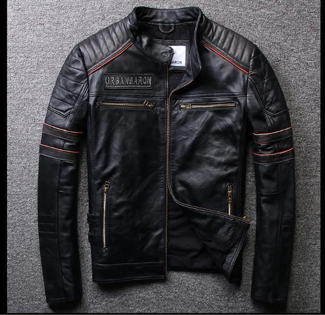 shipping.Brand مجانا الملابس، رجل الجمجمة جاكيتات جلد طبيعي، راكب الدراجة النارية jacket.plus size.homme coat.sales.gift محرك الرجال، والأزياء
