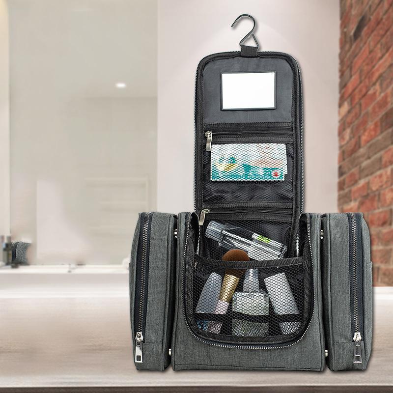 Viagem Mulheres Gancho Acessórios Lavagem de Lavagem Pouch Makeup Beleza Fornecimentos Banheiro Toothbrush Armazenamento Mala de Armazenamento Loção Cosmética RWLWK