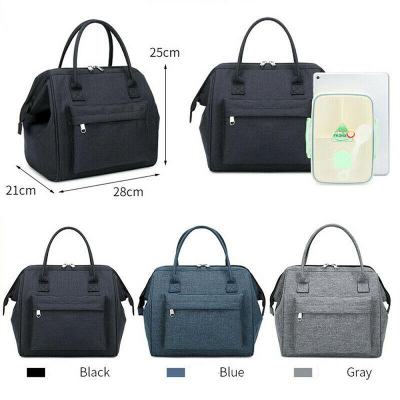 Stoccaggio nuovo sacchetto pranzo cena oxford borse necessarie custodia necessaria impermeabile accessori termici scatola di viaggio con isolata