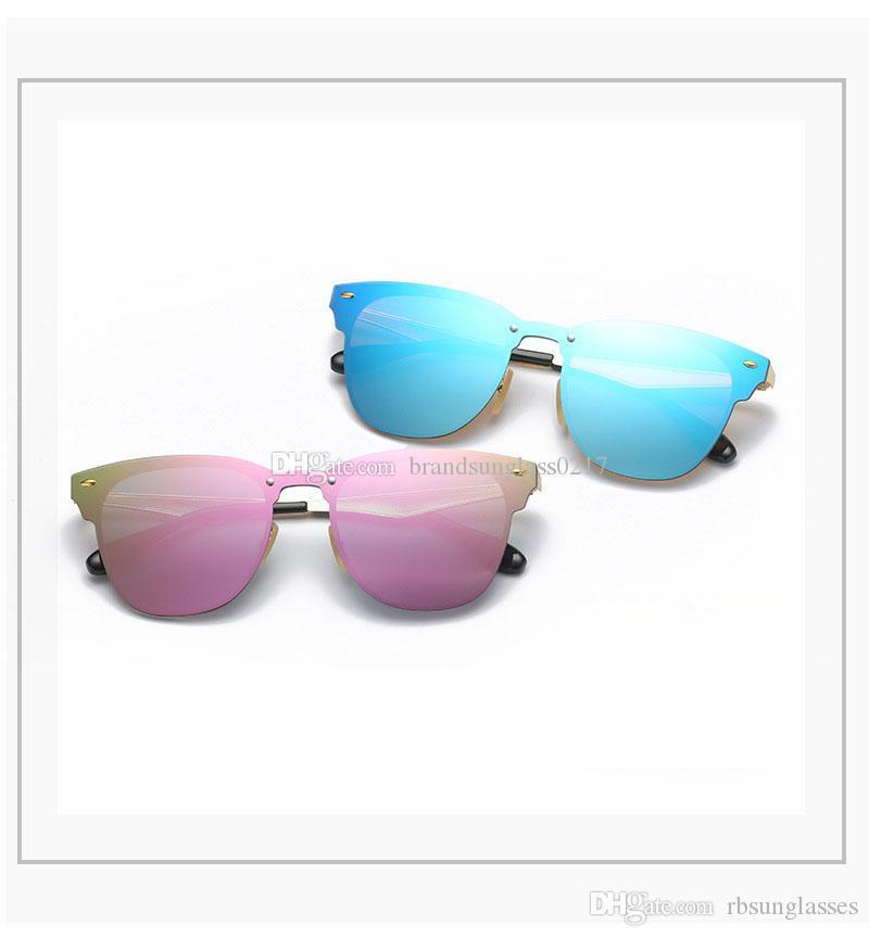 NEW Luxury Brand солнцезащитные очки Мода Градиентные солнцезащитные очки для мужчин женщин солнцезащитные очки 35 76Brand Дизайнер с футляром и коробка 1шт