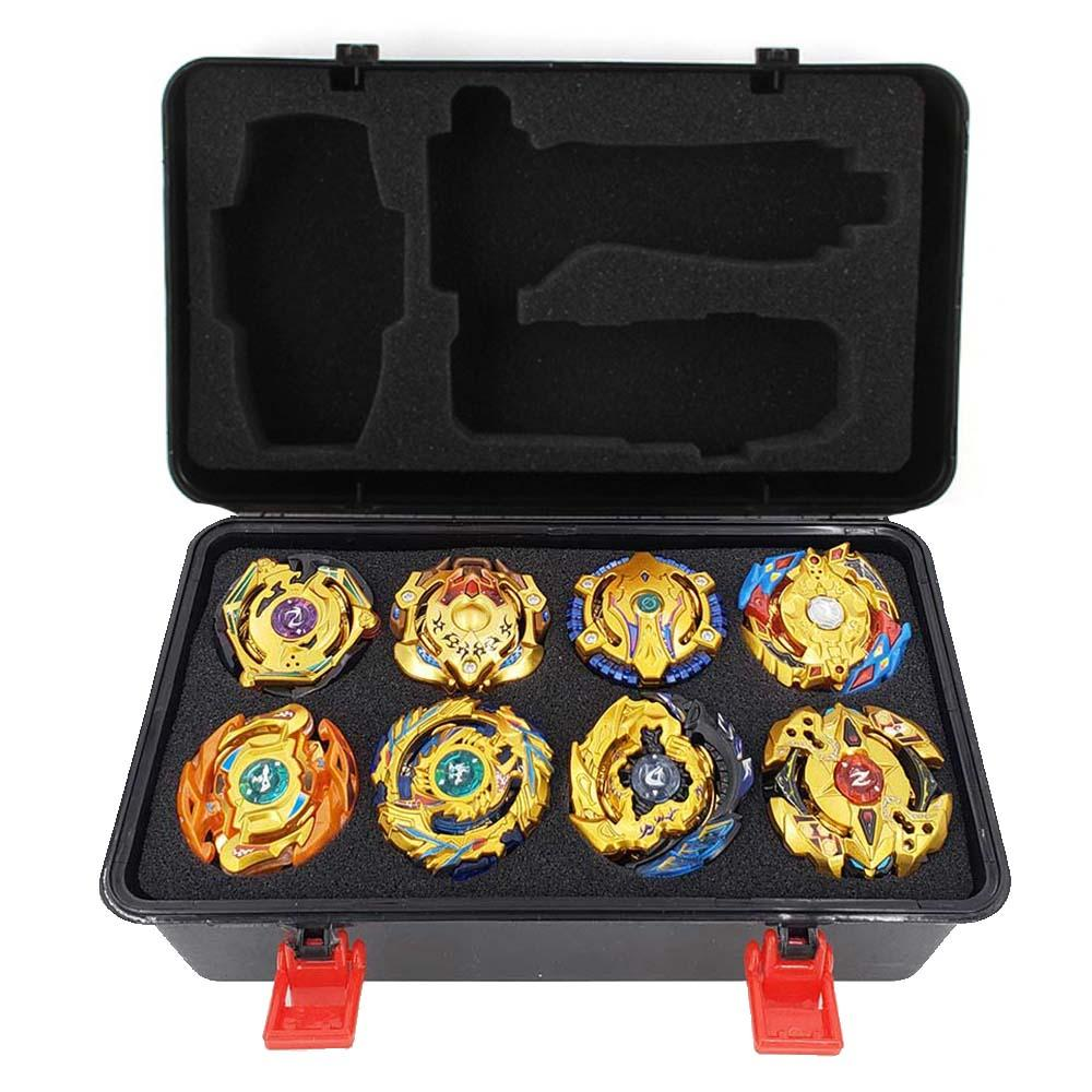 Latest hot Set sale Launchers Beyblade Toupie bursts Metal God Spinning Top Bey Blades Toy