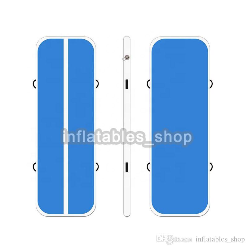 En Kaliteli Mavi 4x1x0.2 m Satılık Pembe Şişme Hava Parça Şişme Takla Parça Şişme AirTrack