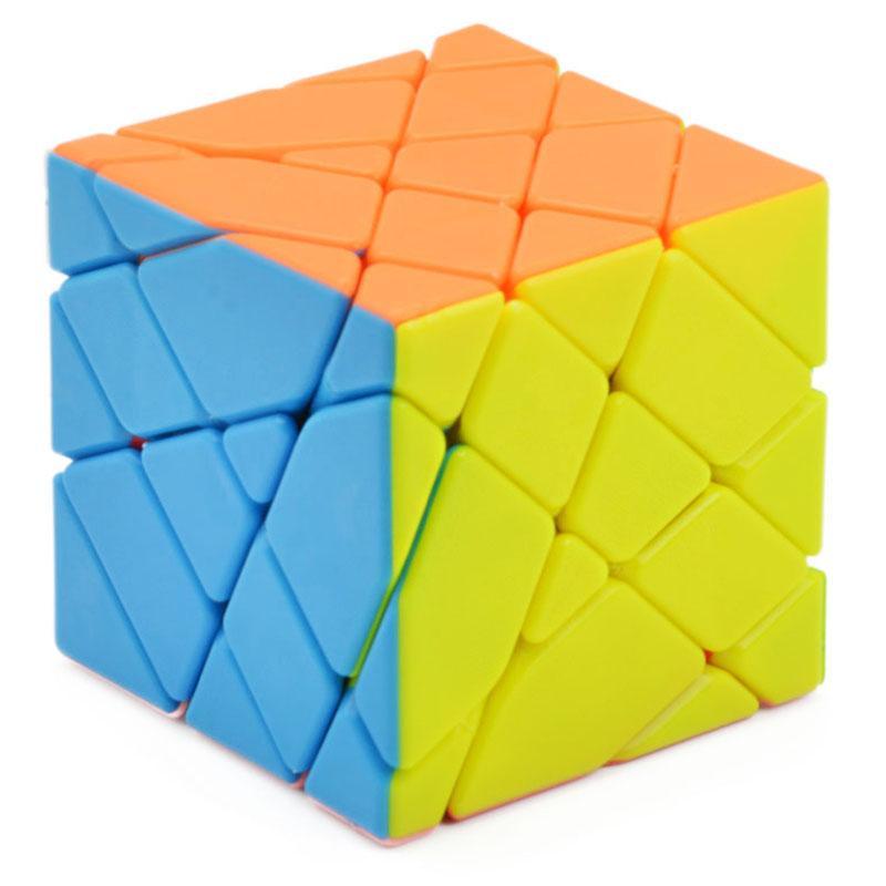 Comercio al por mayor 4 * 4 * 4 Eje Cubo Mágico Sin Etiqueta en Forma Extraña 4x4x4 Cubo Mágico Velocidad Rompecabezas Twist Square Cubo Mágico Juguetes Educativos
