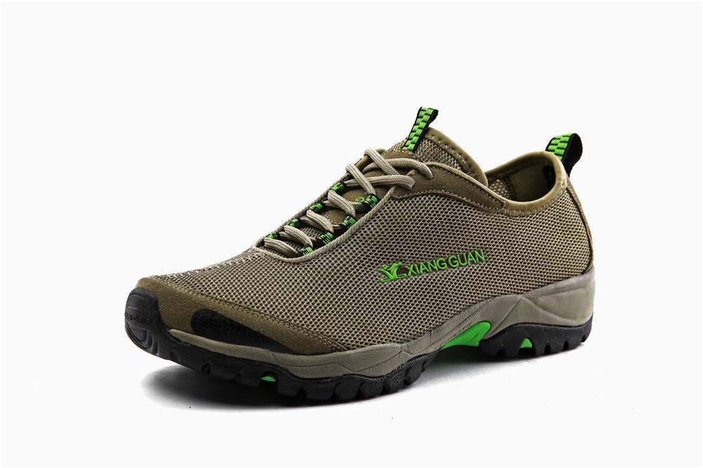 أحذية المشي لمسافات طويلة في الهواء الطلق الرجال المهنية تسلق الرحلات الصيد التخييم في حذاء الرجل ماء التكتيكية العسكرية أحذية الرجال