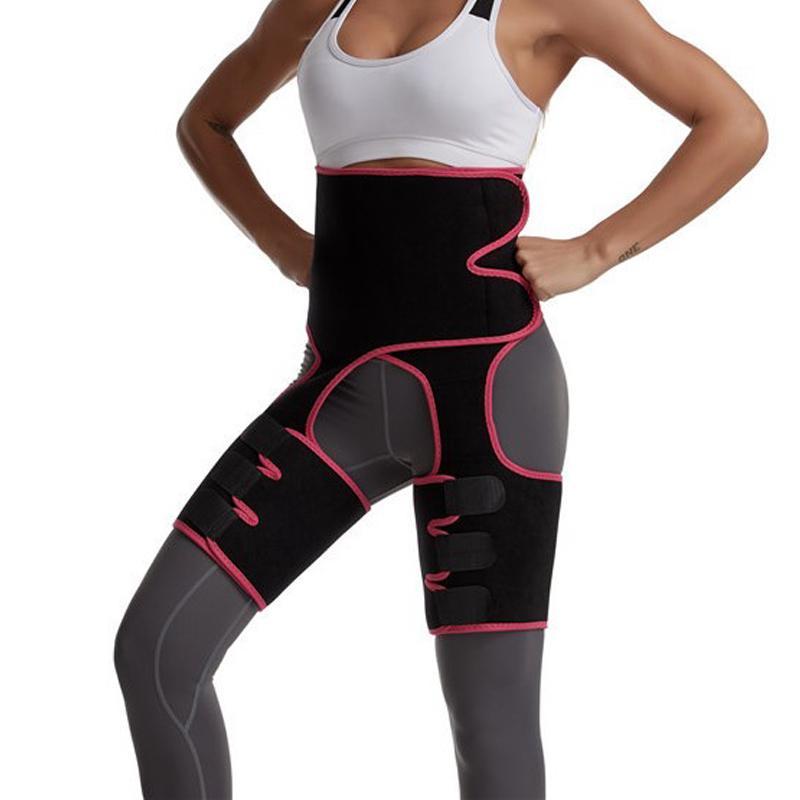 2020 النيوبرين عرق الجسم المشكل المشكل التخسيس الساقين تحكم الدهون Shapewear المرأة الساقين دعم حزام أنحل تقليل الأغطية