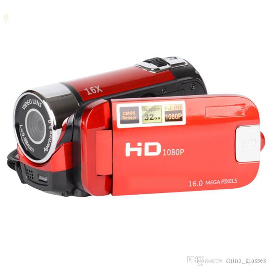 1PCS 2020 الرئيسية HD كاميرا تقريب رقمي 16x كاميرا السفر الأساسية DV كاميرا هدية صورة شخصية 2.7 بوصة 270 تناوب العرض DV90
