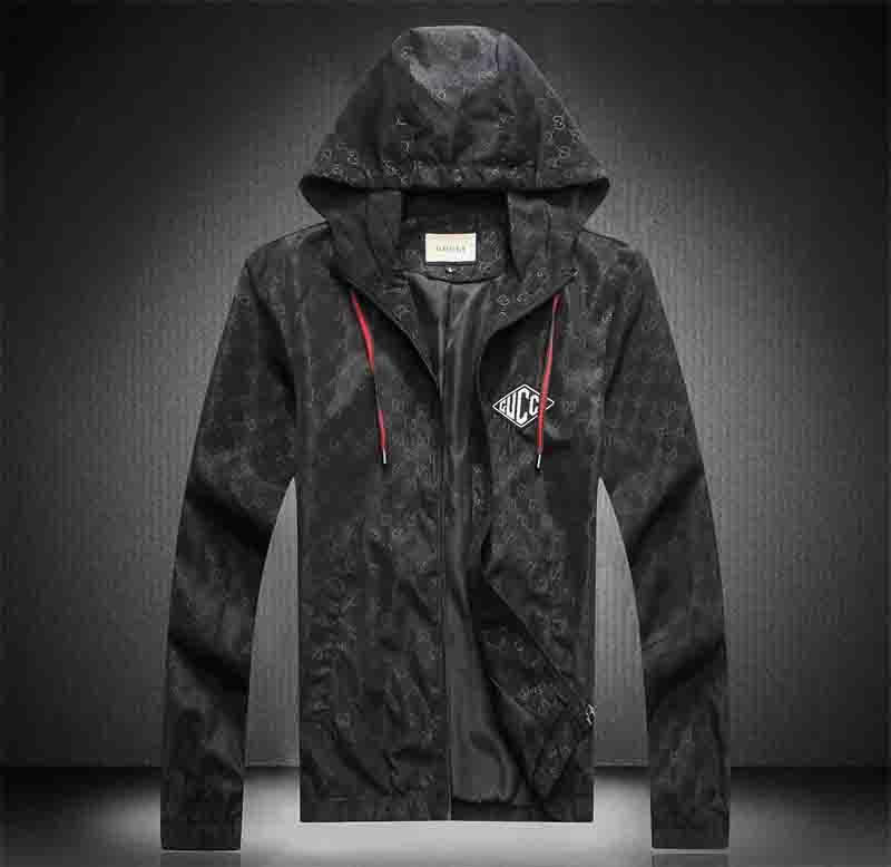 jaqueta dos homens novos europeus e americanos de luxo designer de manga comprida outono jaqueta de negócio da moda e inverno Medusa exterior jaqueta Europeia