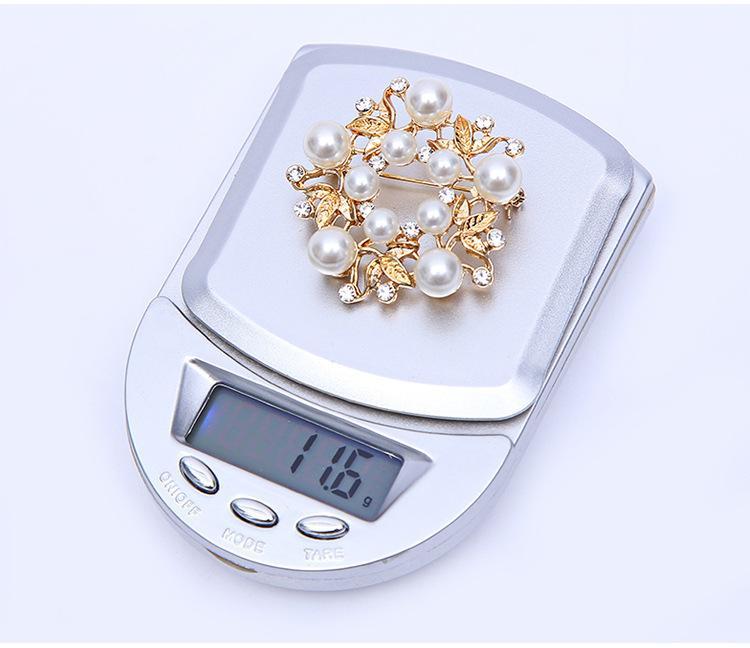 100-200g 0.01g 500g * 0.1g mini LCD digitale elettronico tasca scala scala portatile bilance Jewelry Gram Digital con la scatola di vendita al dettaglio