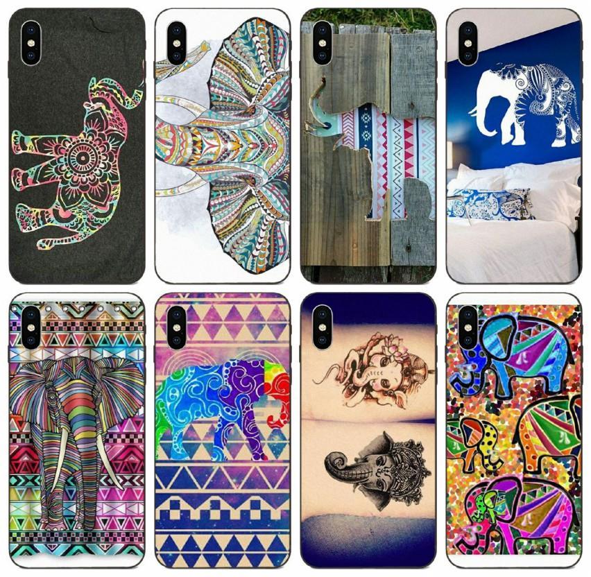 [TongTrade] Tribal Filler Aztek Kılıf iPhone 11 Pro Max X XS XR 8 7 6S 5s 5c Artı Samsung Çekirdek 8262 Huawei P30 P9 Y9 Xiaomi 8 Pro Kılıf