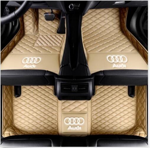 For Audi A7 2012-2019 luxury custom waterproof car mat Waterproof Non-slip Carpets floor mat Non toxic and inodorous