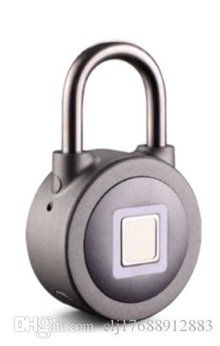 Inteligente huella digital Bluetooth padlockNumber de huellas digitales que se pueden grabar generación delivery20 Soporte