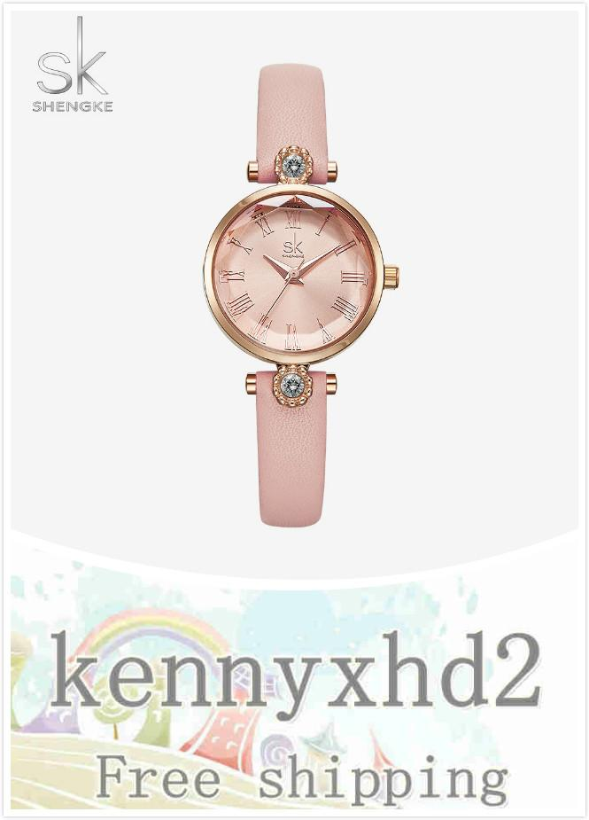 Новая мода благородные дамы часы с алмазом часы цветок стекла часы ремень водонепроницаемый K9009