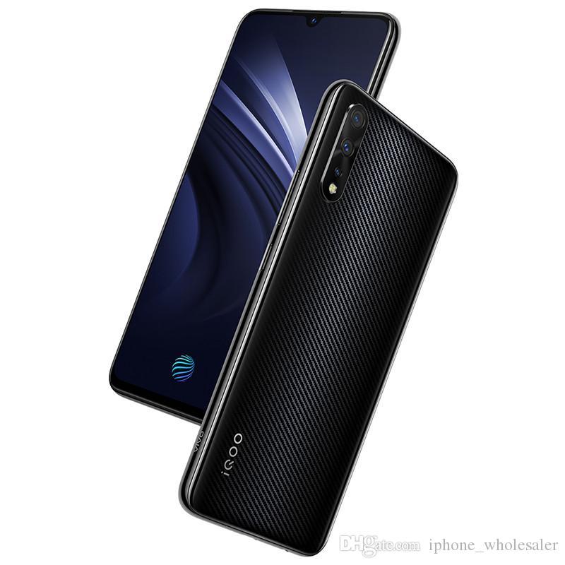 "Orijinal Vivo iQOO Neo 4G LTE Cep Telefonu 8 GB RAM 64GB ROM Snapdragon 845 Octa Çekirdek 6,38"" Tam Ekran 12MP Parmak İzi Kimlik Akıllı Cep Telefonu"