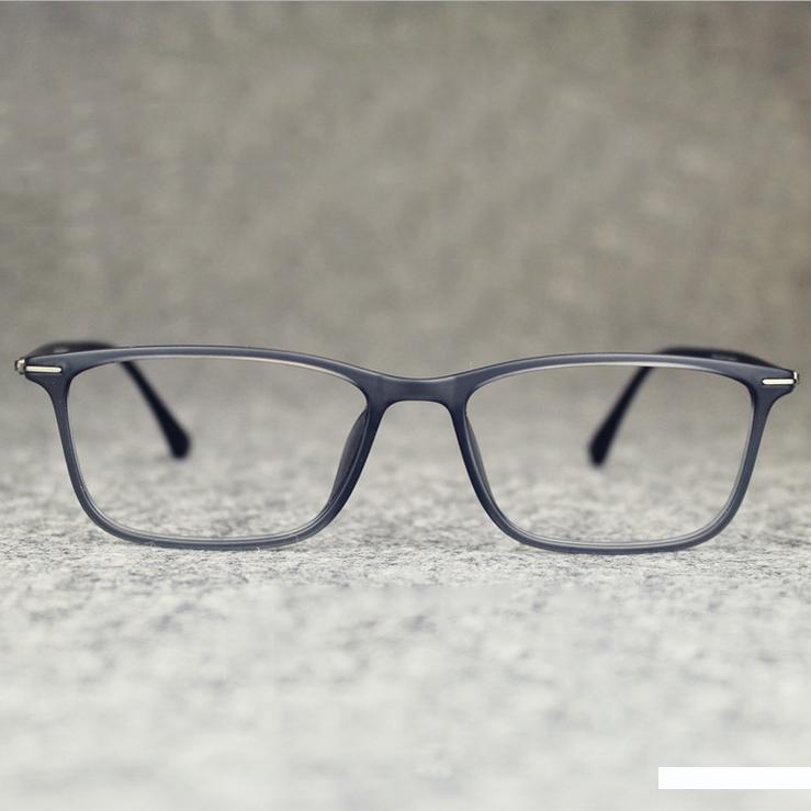 Wholesale- 2016 Business Herren Marke Platz Tungsten-Glas-Rahmen Jahrgang flexilbe Myopie Carbon Steel Brillen Computer-Brillen Ocu