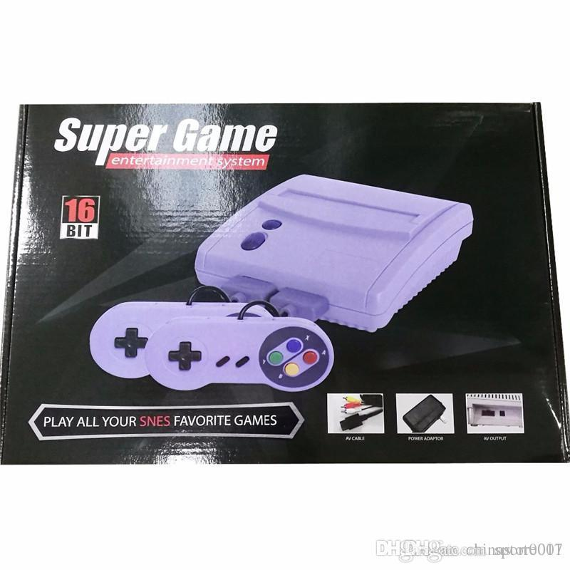 16Bit Super Mini SFC TV Klassische Spielkonsolen Für 2018 Datum 64 SNES Super 16 Bit Games Entertainment System Console High Quality