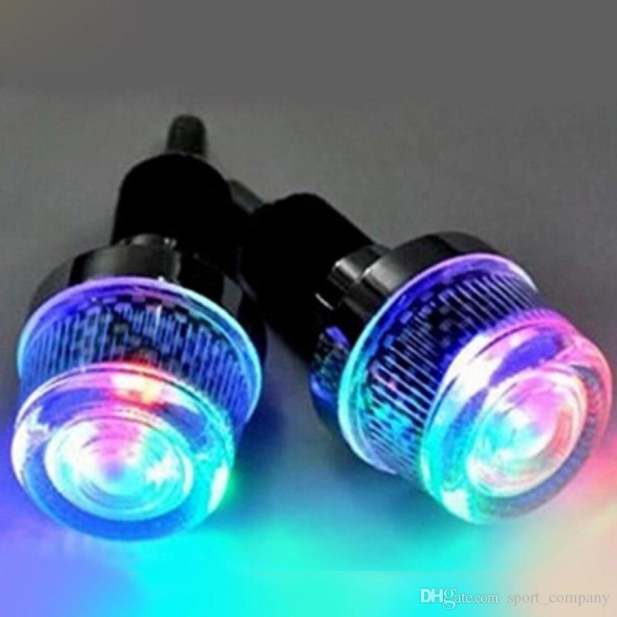 10 Colors Available - 1 Pair Plugs Bike Handlebar End Caps Plastic