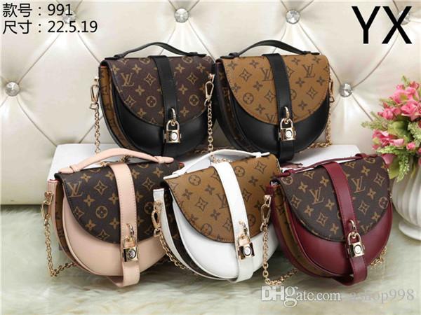2020 BORSE D168 nuovi stili di pelle Nome borsa Famoso borse delle donne dei sacchetti di Tote della spalla della signora Borse di pelle Borse di spal