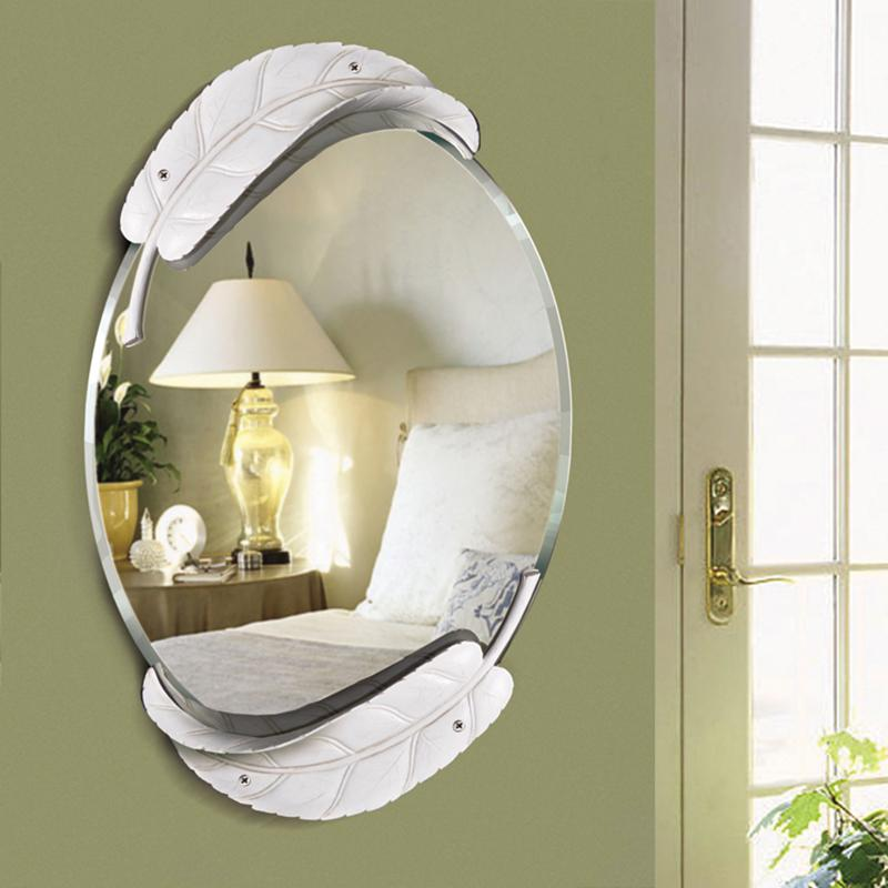 Princess Home Decor Art Wall Mirror For Girl Rooms Love Diy Family Bathroom Mirror Cute Leaves Cartoon Romantic Large Room Mirrors Large Round Mirror From Copy03 263 96 Dhgate Com