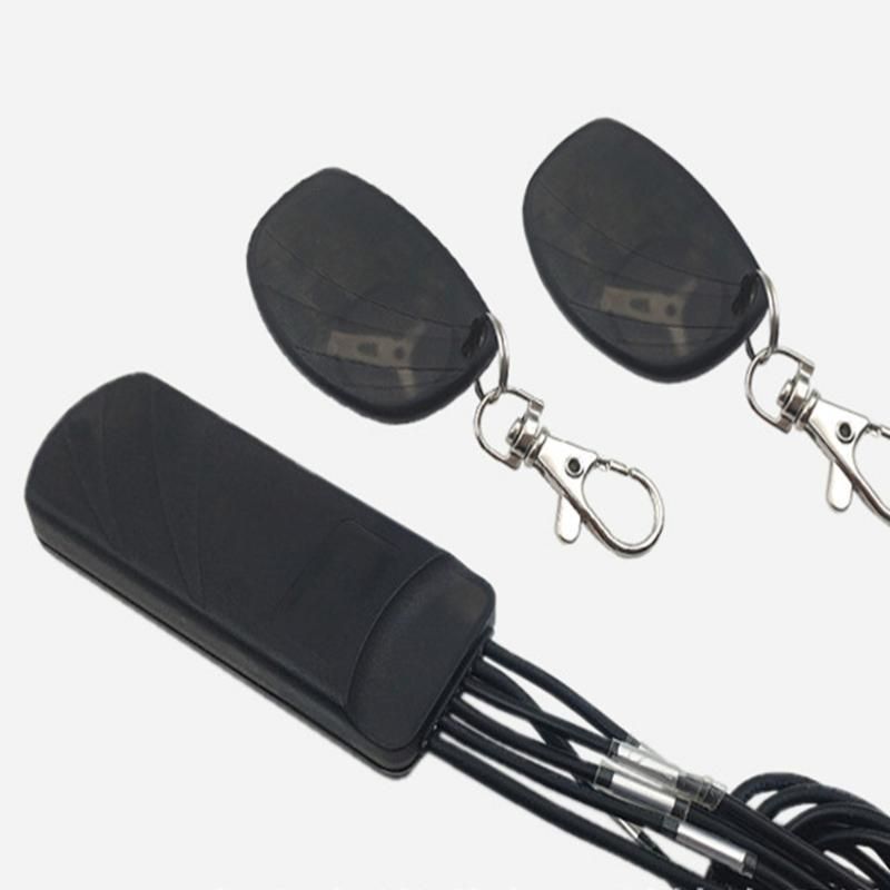 2.4G Compatible Remote Control With G Sensor Alarm System Car Engine Immobilizer Security Anti Hijack Anti Theft Starter
