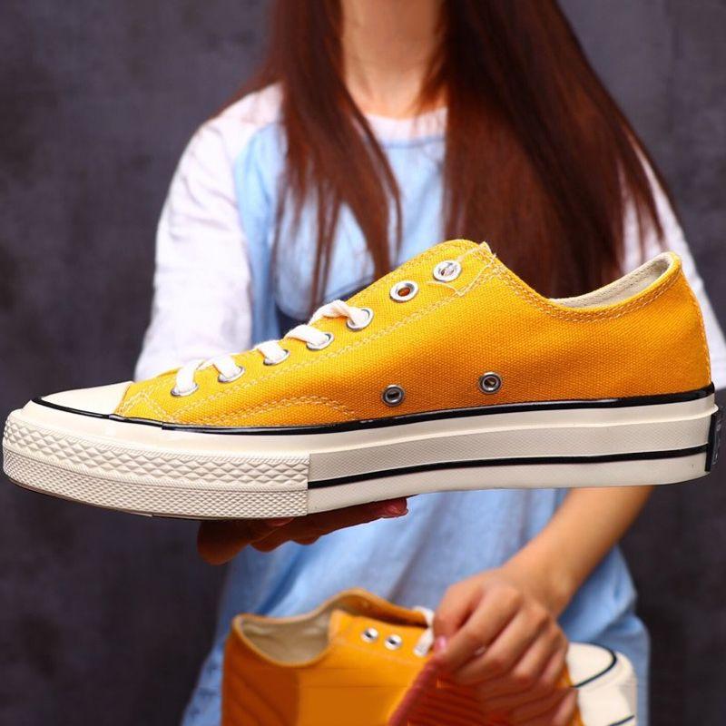 Men shoes classic women shoes low cut canvas skeatboarding shoes rubber bottom casual 90s high quality designer zapatos star EUR35-44 cs04