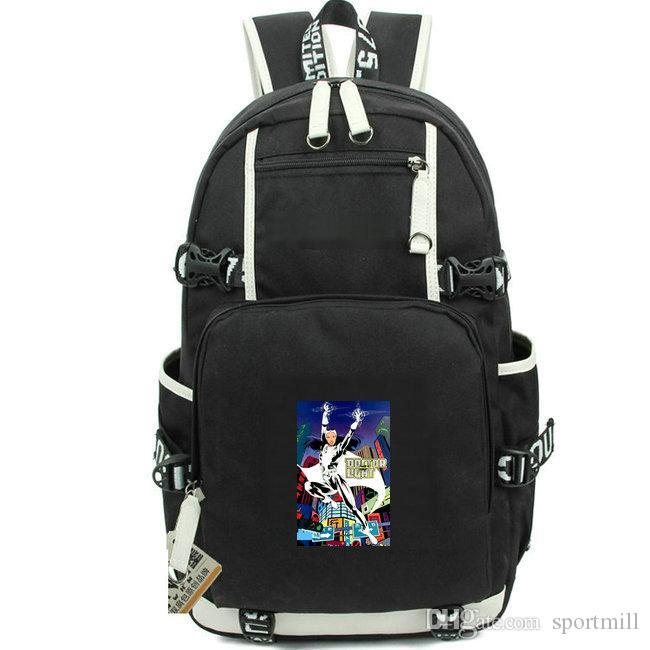 Light rucksack Doctor Kimiyo Hoshi school bag Super hero printing daypack Casual computer schoolbag Out door backpack Sport day pack