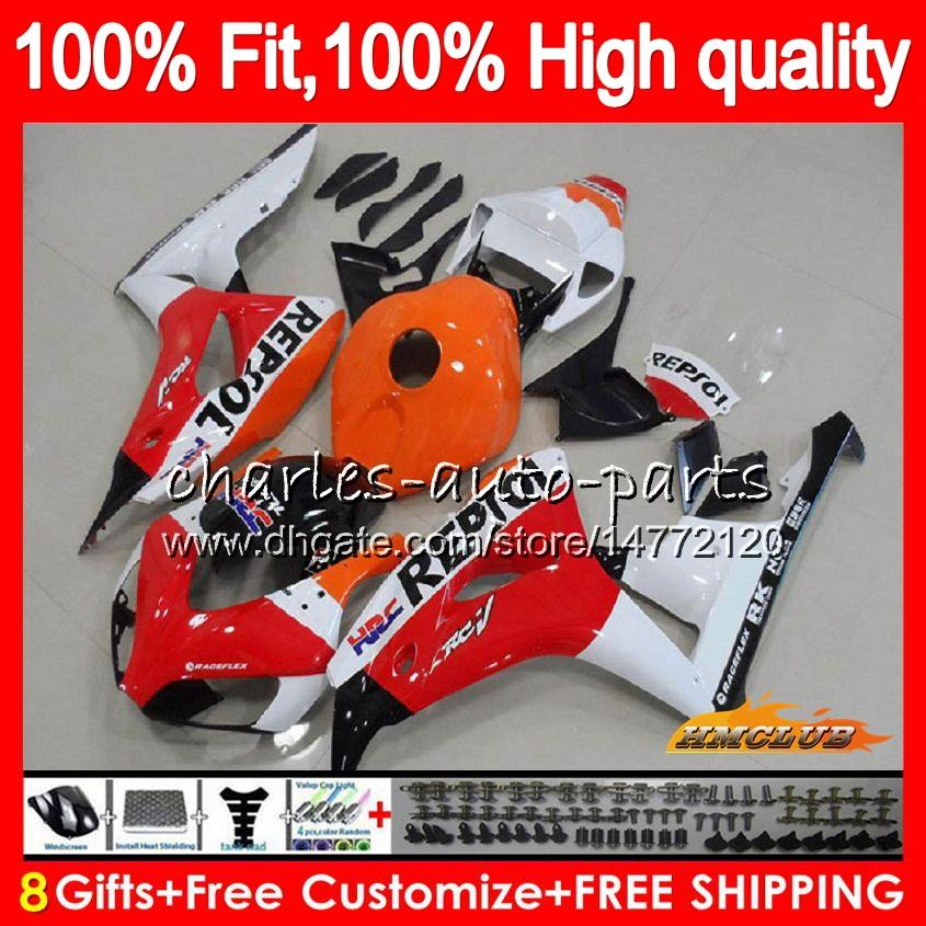 Injection OEM For HONDA Repsol red new CBR 1000CC 1000 RR 06 07 Body 78HC.4 CBR1000 RR CBR 1000RR CBR1000RR 06 07 2006 2007 100%Fit Fairing