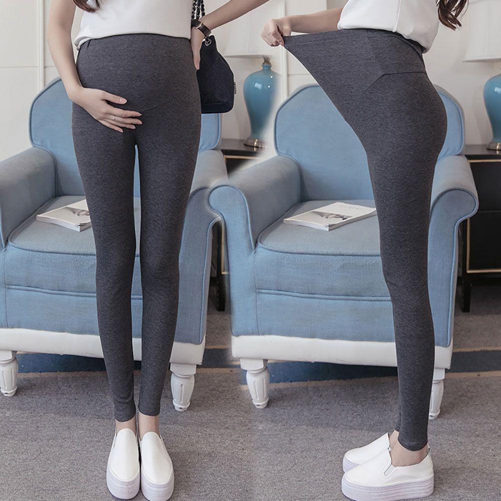Plus Size Pantalons de maternité Leggings pour les femmes enceintes Noir Automne Hiver chaud Pantalons Vêtements Vêtements de grossesse Ropa premama