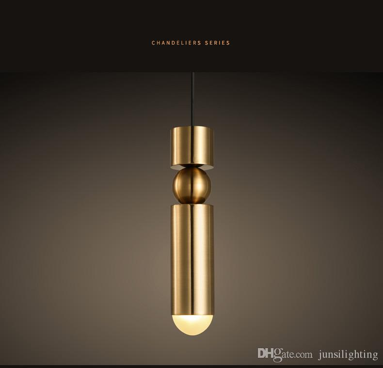 Modern minimalist personality creative art pendant lamp bedside restaurant corridor single head simple staircase pendant light