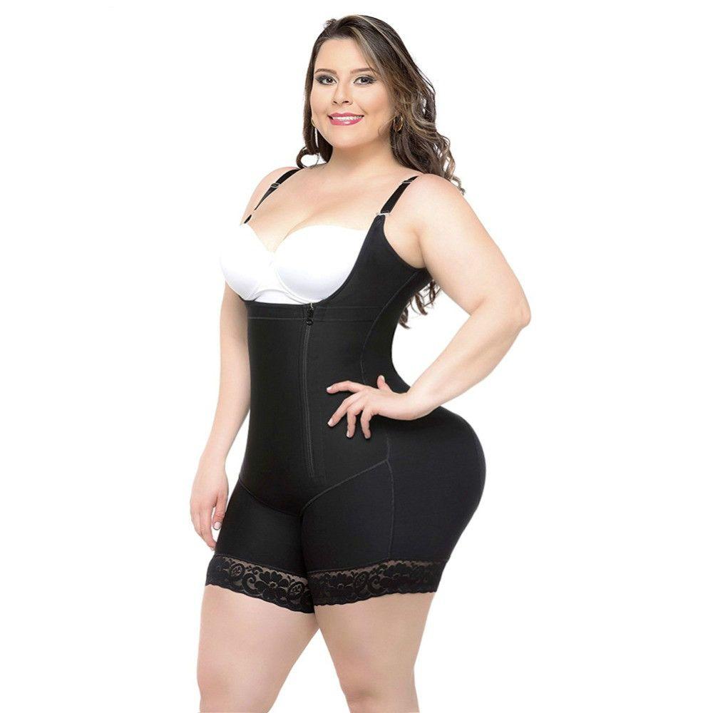 الإناث ارتداءها كامل طول البطن المشكل الجسم المشكل النساء التخسيس حزام التخسيس ملابس داخلية fajas بعقب رافع غمد