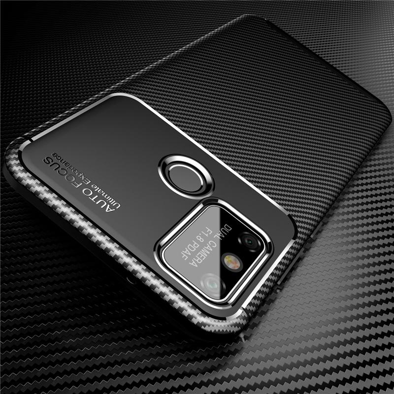 Case For Huawei Honor 9A Cover Ultra-thin Soft TPU Carbon Fiber Back Cover for Huawei Honor 9A Silicone Case for Honor 9A 6.3