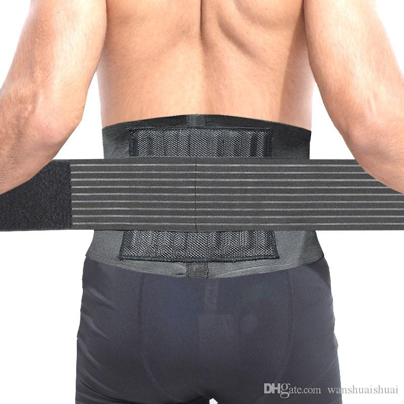 Adjustable Sport Accessories Back Support Brace Belt Double Adjust Back Pain Relief Magnetic Therapy Waist Support For Gym