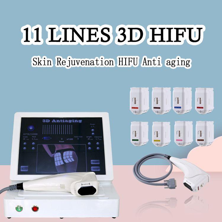 Hifu 3D multifunzione di nuova generazione per illuminare la pelle Stringere la pelle intorno agli occhi Utilizzare per uso domestico