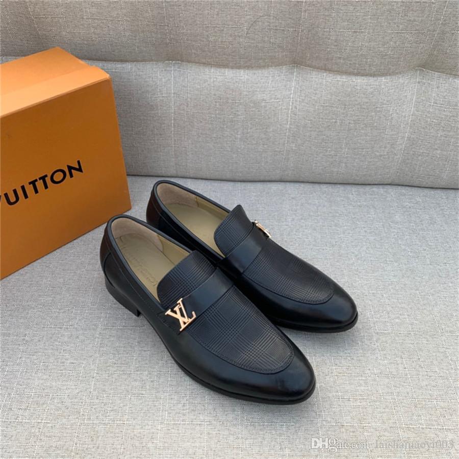 Best Designer Mens Shoes Loafers Black
