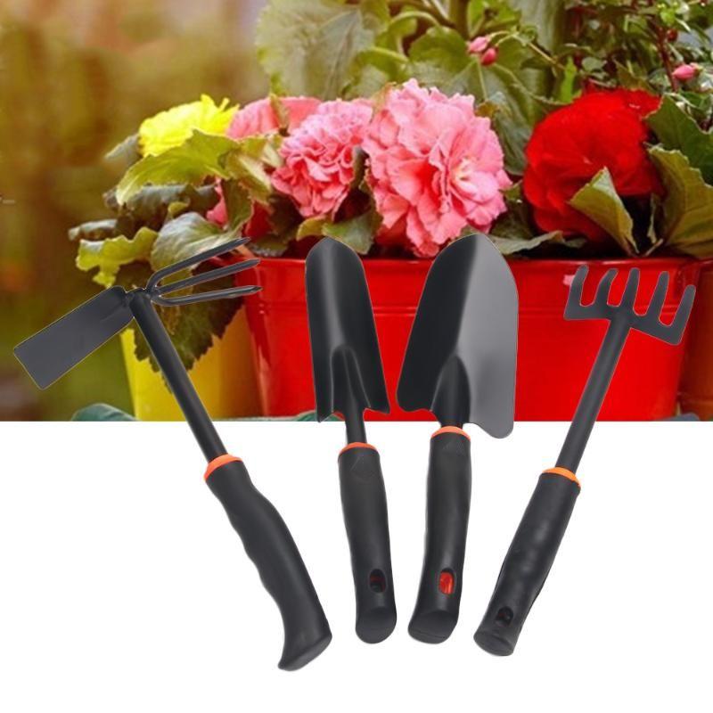 Durable Metal Hand Weeding Fork Transplanting Digging Tool Trowel Shovel 5 Pronged Rake For Garden Planting Hand Tool