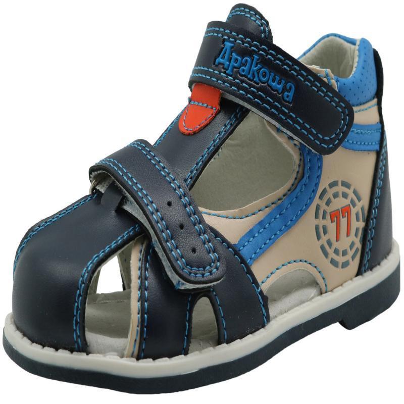 Enfants Sandales 2020 Summer Fashon Chaussures enfants Chaussures pour enfants Toe fermé tout-petits garçons Sandales Casual Cool Boy Nouveau