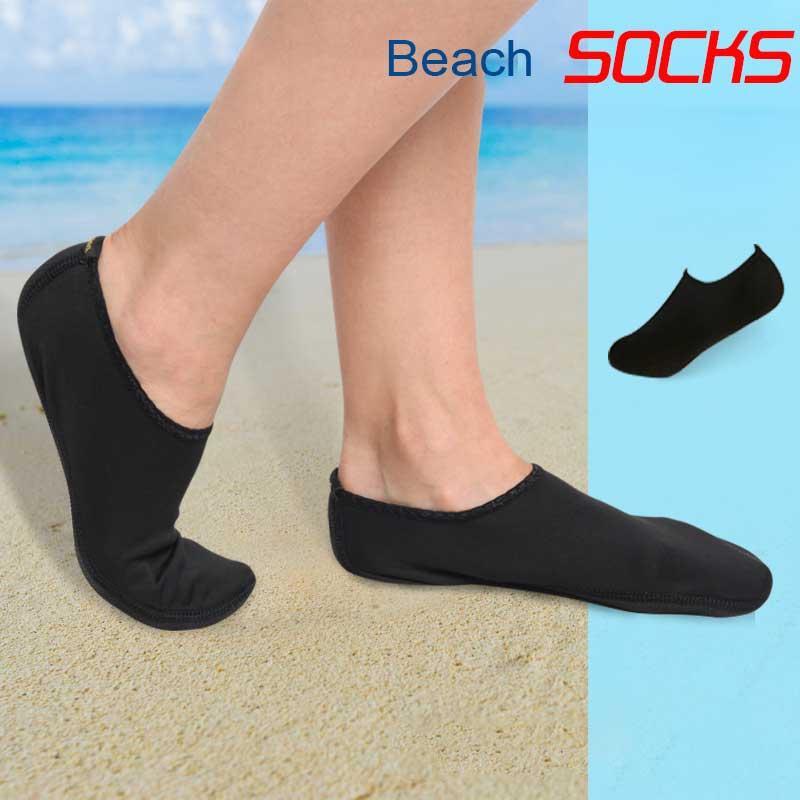 2020New Praia meias homens e mulheres de Verão Sapatos de água Barefoot de secagem rápida meias água da praia ao ar livre sapatos de água Natação YW0101