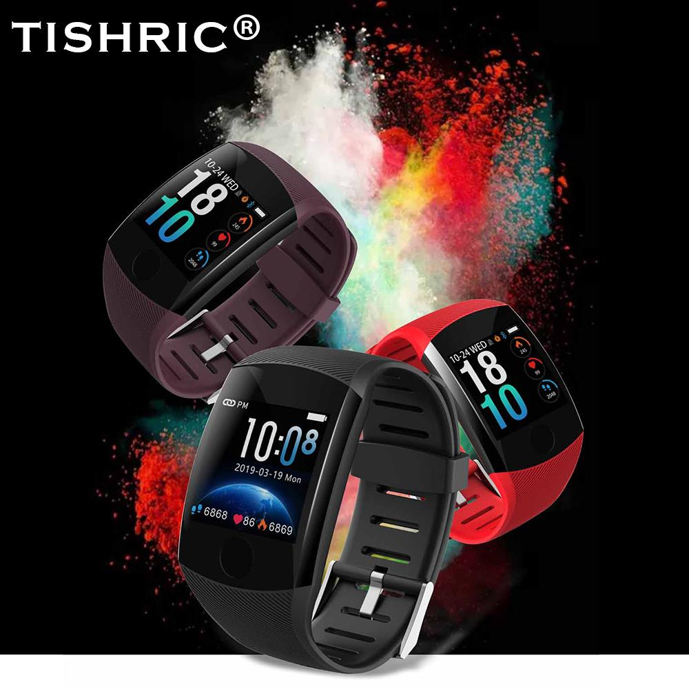 earable Geräte Smart-Uhren TISHRIC 2019 Q11 Smart Uhr Sport / Frauen / Männer / bluetooth ios / android / waterproof whatsapp Smartwatch Herz ra ...