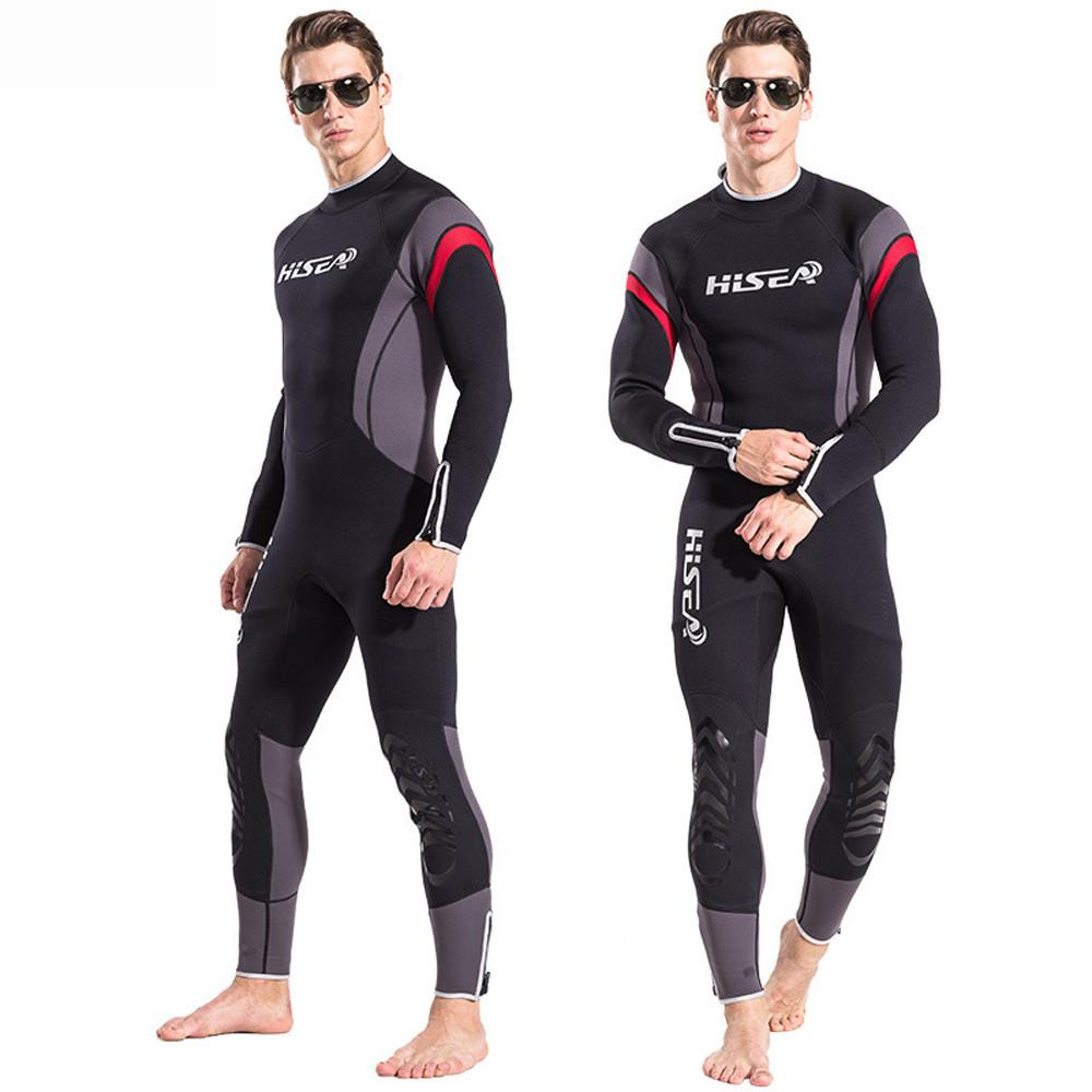 Areyoursop Ultra-thin WetSuit Mens Full Body Super stretch Diving Suit Swim Surf Snorkeling