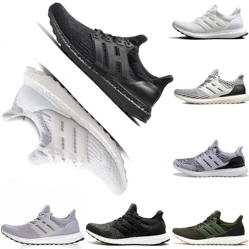 Дешевле UB 3,0 4,0 Тройного черный белый синие Oreo мужские женщины кроссовки тапок для мужчин обуви спортивных кроссовок БЕСПЛАТНОЙ ДОСТАВКИ
