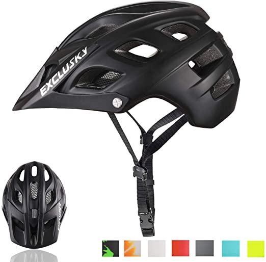 Exclusky Mountainbike Helm MTB Fahrrad Fahrradhelme für Erwachsene Frauen und Männern CPSC Certified Outdoor Radsport Schutzausrüstung