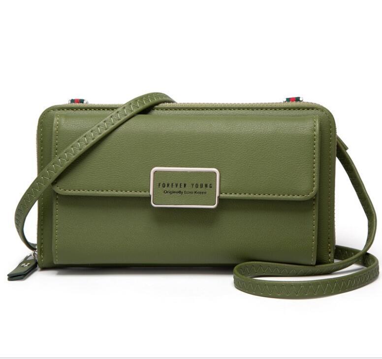 Nouveau best-seller à long sac de téléphone mobile femmes portefeuille multi-fonctionnel Messenger épaule Sac simple sac à main transfrontalier vente chaude